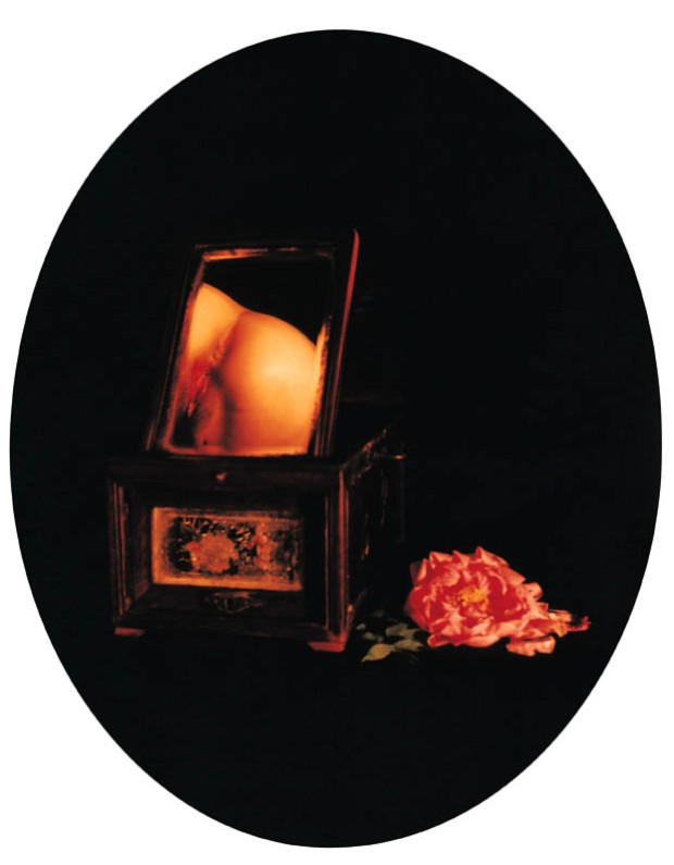 Chen Lingyang, April Peony, 1999-2000  From the series Twelve Flower Months Colour photograph, dimensions unknown M+ Sigg Collection, M+, Museum for Visual Culture, Hong Kong